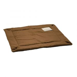 Self-Warming Crate Pad (Color: Mocha, Size: small)